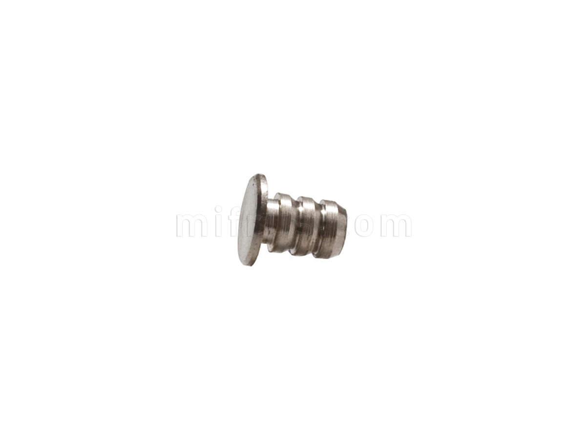 11.0664 Push-Latch Ответная часть d=10 мм на бобышке 6,5 мм, отделка никель (500)