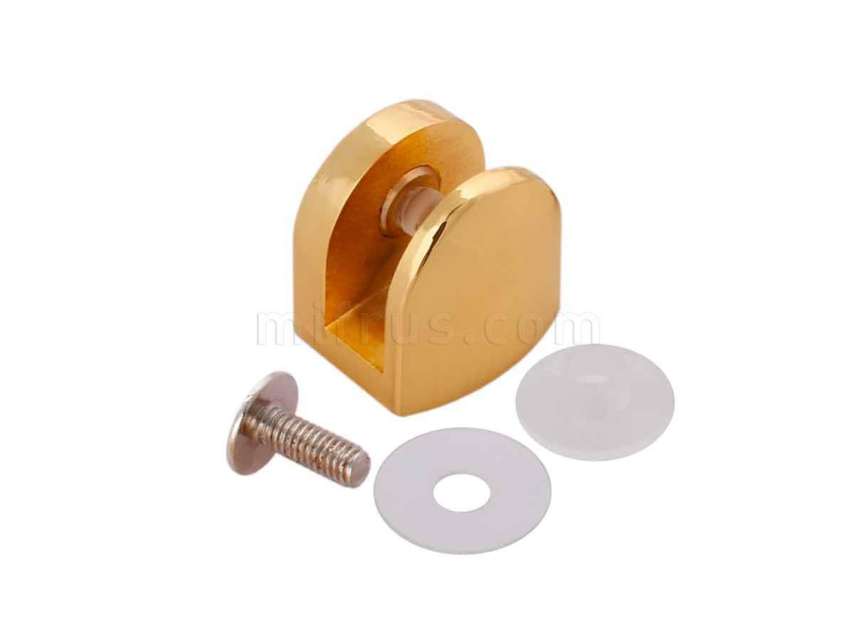 BOYARD Полкодержатель P512GP.2 золото (50/500)