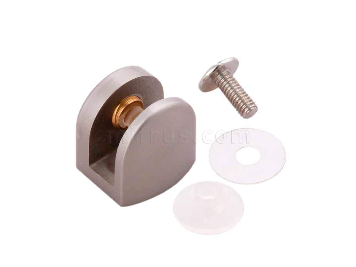 BOYARD Полкодержатель P512SN.2 матовый никель (50/500)