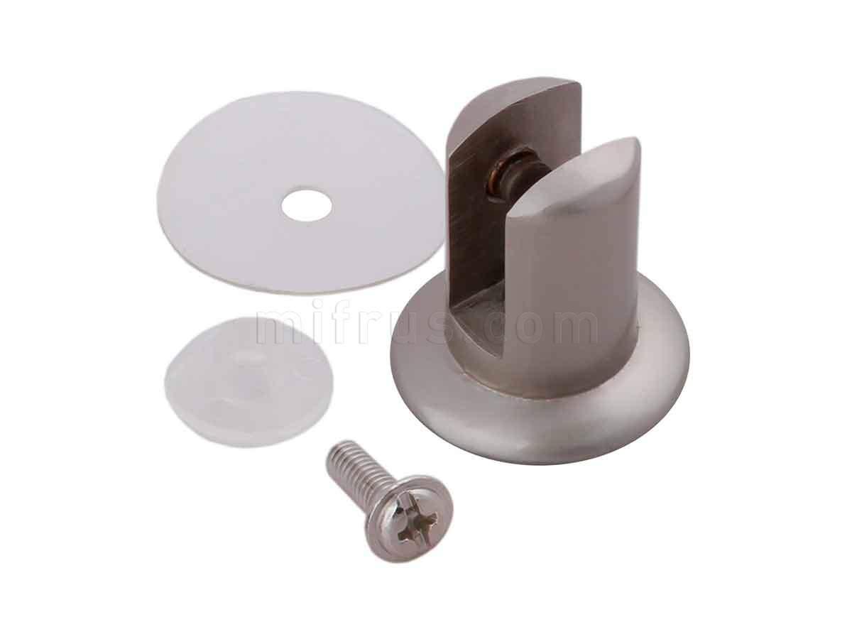 BOYARD Полкодержатель P515SN.2 матовый никель (40/400) ВЫВЕЛИ