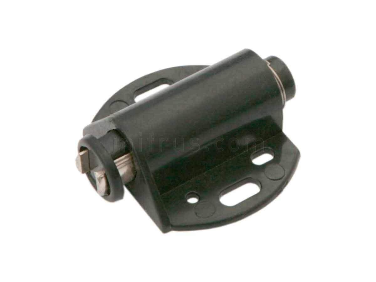 BOYARD Магнит MH01/Bl для 1 стеклянного фасада, черный (250)