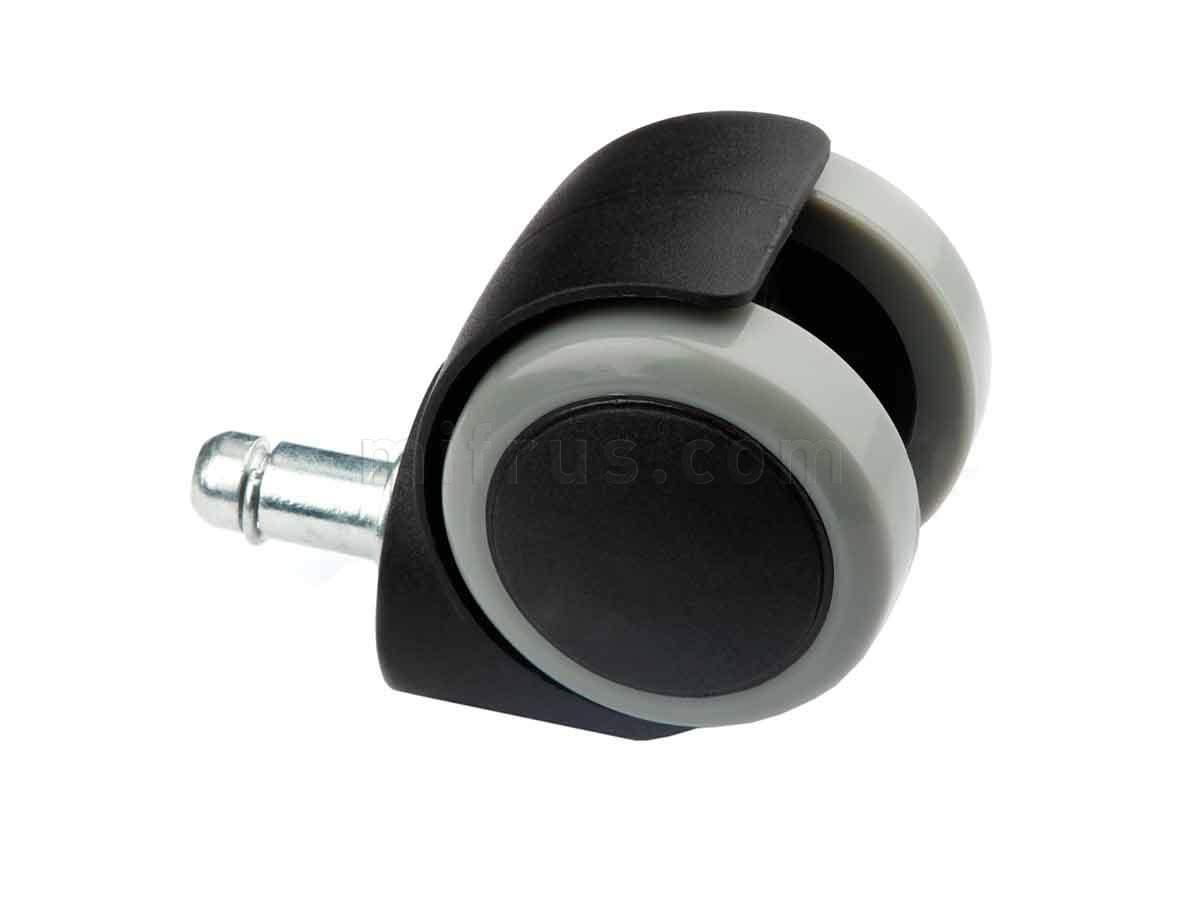 BOYARD Мебельное колесо со штифтом 10*30мм d=50 без стопора N108BL/GR.5 (40/240)