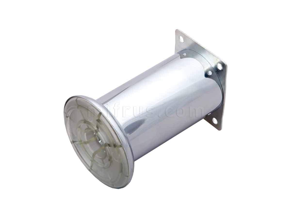 BOYARD Нога N207CP.2 хром d=50мм, h=100мм (50)