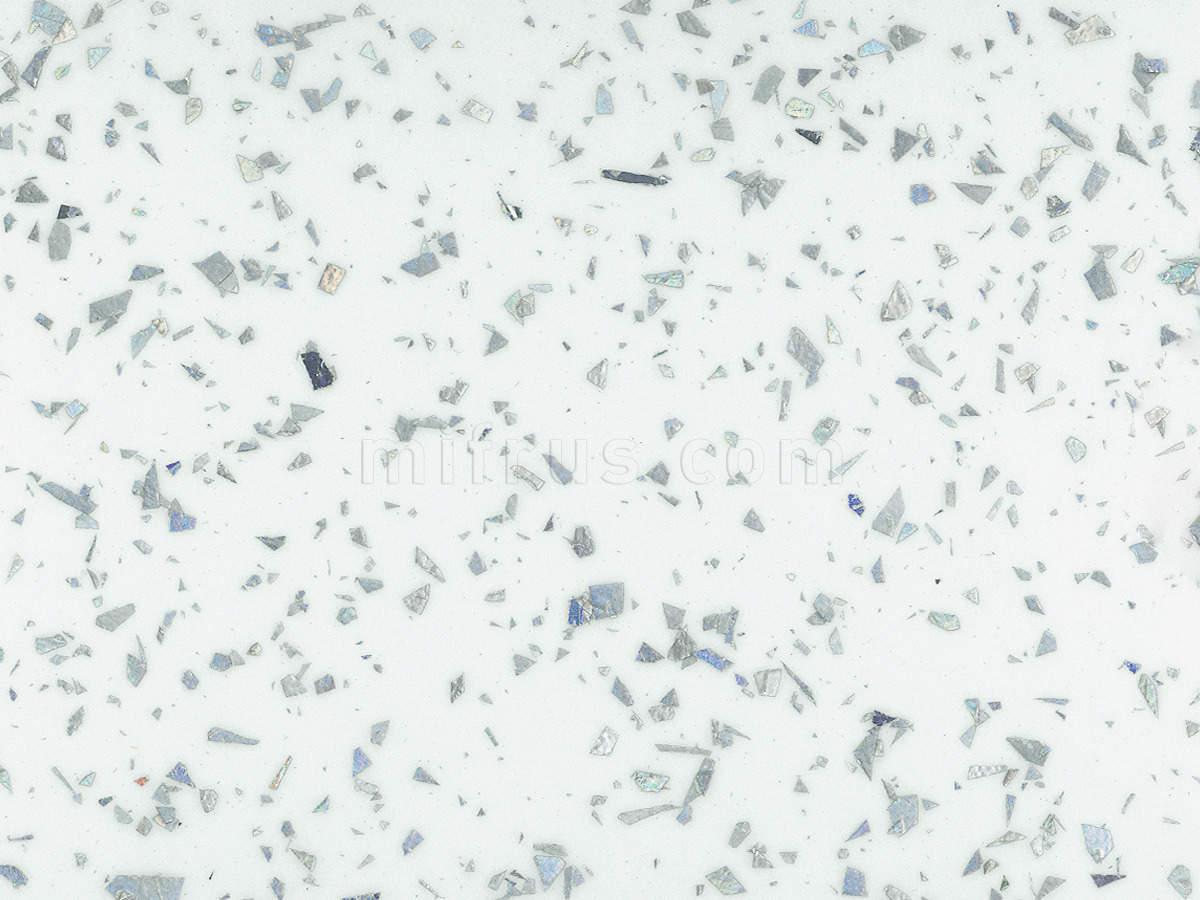 Столешница 101.LUC ледяная искра глянец 600*4200*40 (в упаковке) кат.D