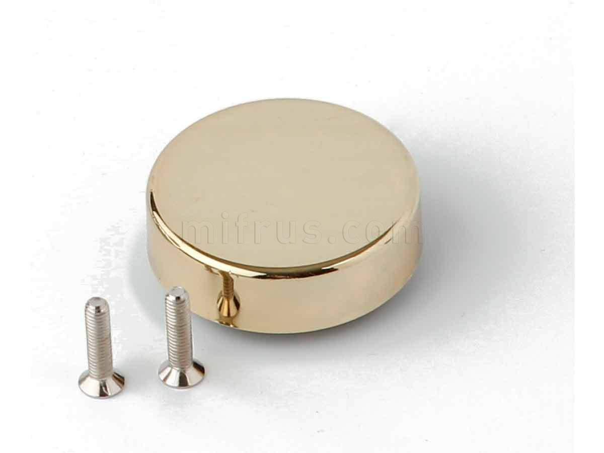 BOYARD Накладка круглая H19GP золото (к петле H504) (300)