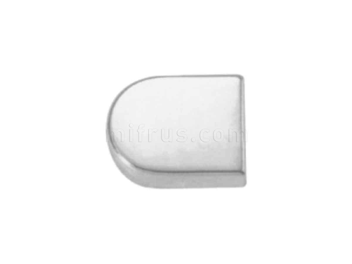 BOYARD Накладка овал H16SC матовый хром (300)