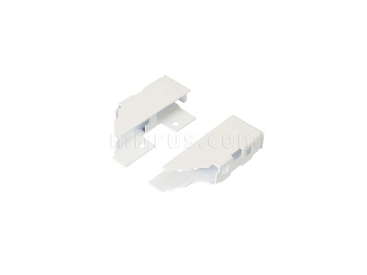 TEN Комплект креплений БЕЛЫЙ для задней стенки H.90 из ДСП 16мм 58AXPAF1U000B00 (SALE)