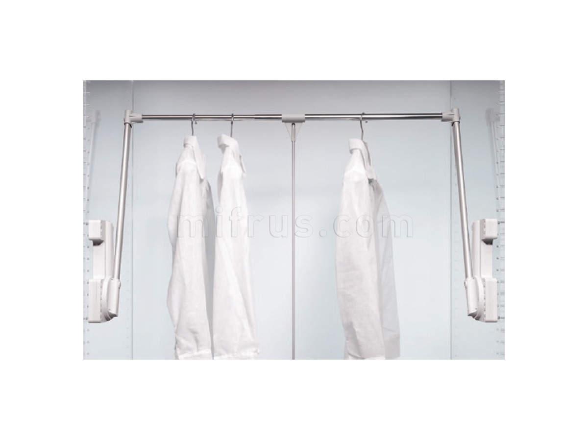 Лифт д/одежды 2-сторонний арт.700/А 750-1100, до 15 кг (12) (НА ВЫСТАВКЕ зал №2 - распродажа)