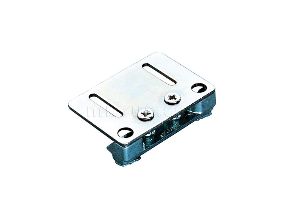 PracticAL Адаптер D206BL5 для установки механизмов на профиль (газовый подъемник,KLOK,NSD) ВЫВОДИТСЯ (SALE) на витрине