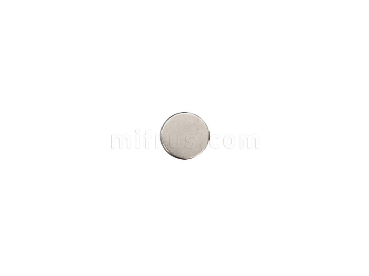 01.0667 Push-Latch Ответная часть d=15 мм самоклеющаяся, никель