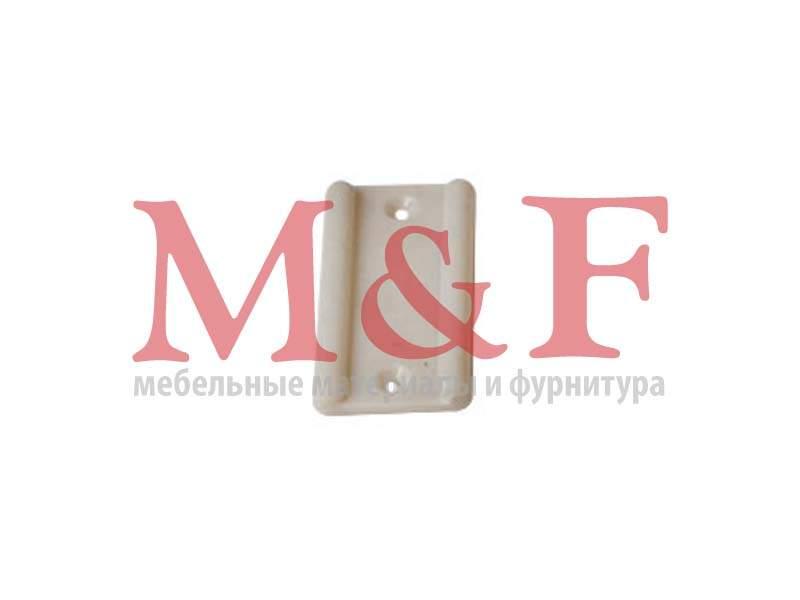 Подпятник пластмассовый под гвоздь белый (10000шт)