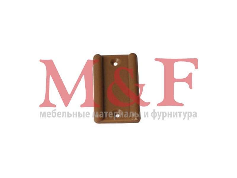 Подпятник пластмассовый под гвоздь коричневый (10000шт)