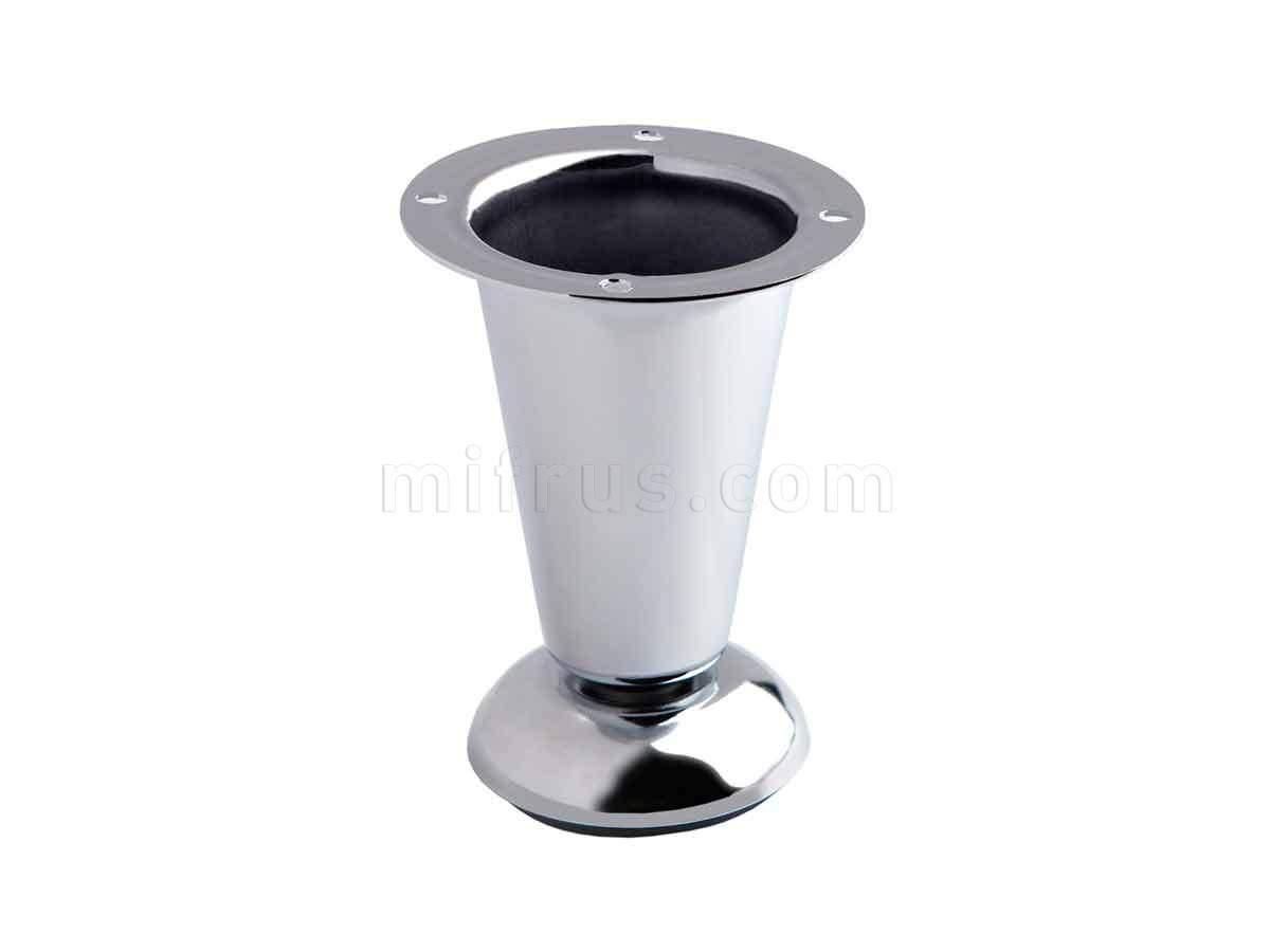 BOYARD Нога N314CP.2 глянец коническая h=100мм (100)
