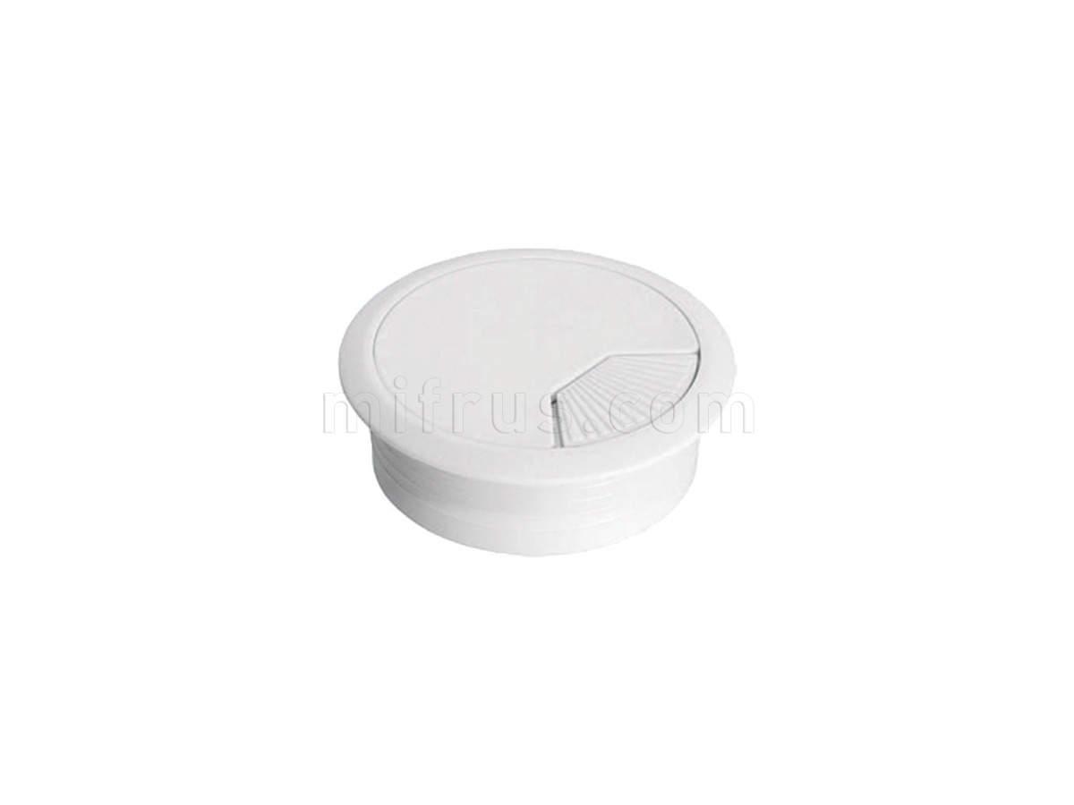 HW.007.003 Заглушка кабель-канал, d.60, белый ВЫВЕЛИ (SALE)