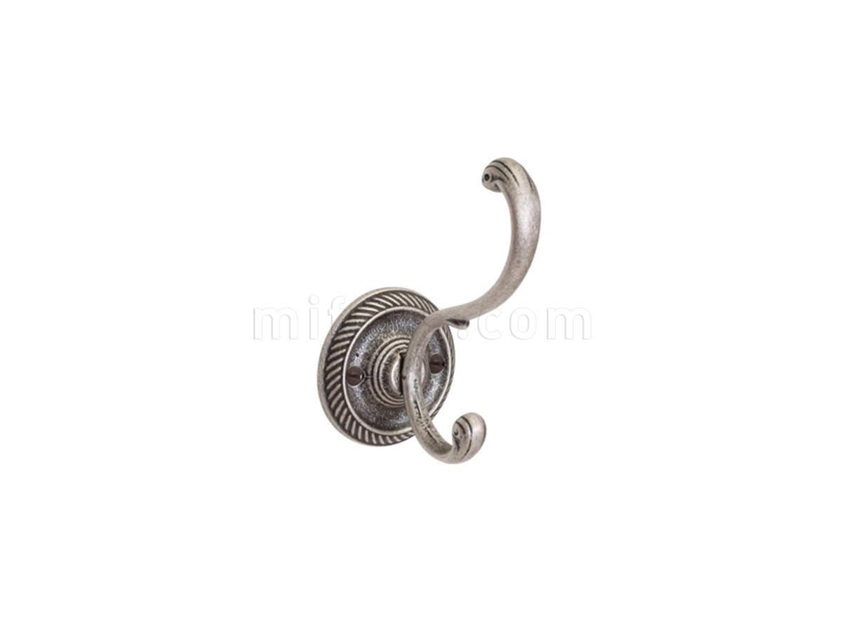 Крючок 43001.11300.25 (57х113), старое серебро