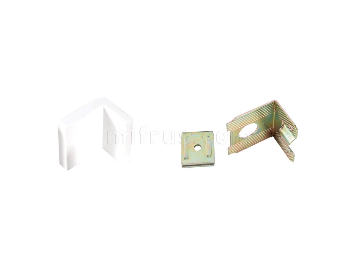 SAMET Навес для шкафов белый (400)