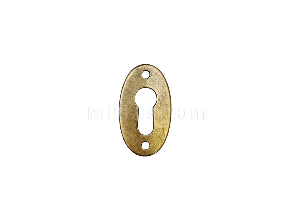 4360.22 Накладка под ключ, отделка бронза античная