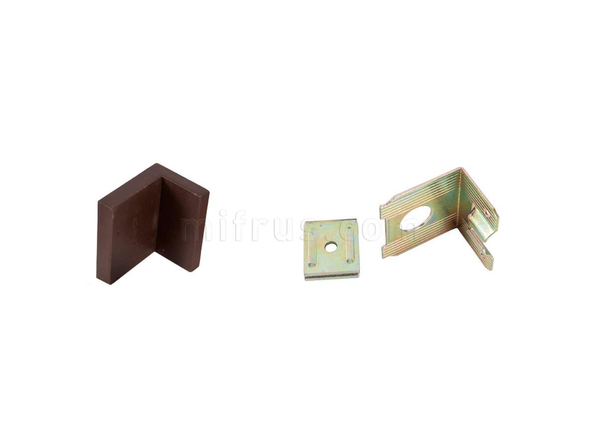 SAMET Навес для шкафов коричневый (400)