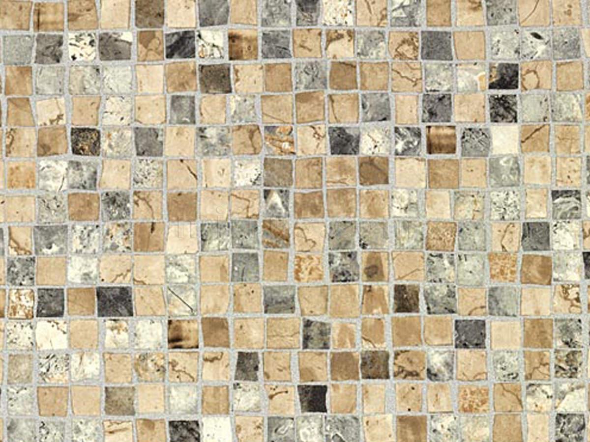 Стен. панель 4*600*3000 Мозаика коричневый F194 (ST70) (факт. ширина 655мм)
