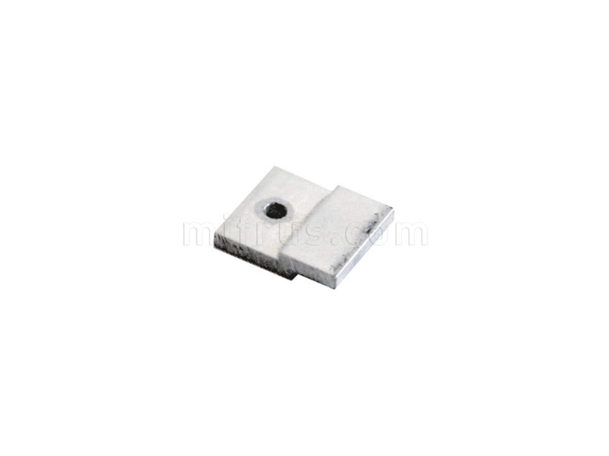 8505.B21 Пластина крепежная для профилей фронтальных серии В8, алюминий (50)