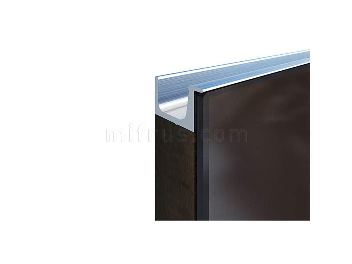901304.67.00 5000.0 Профиль-ручка под пропил, L=5000мм, нержавеющая сталь