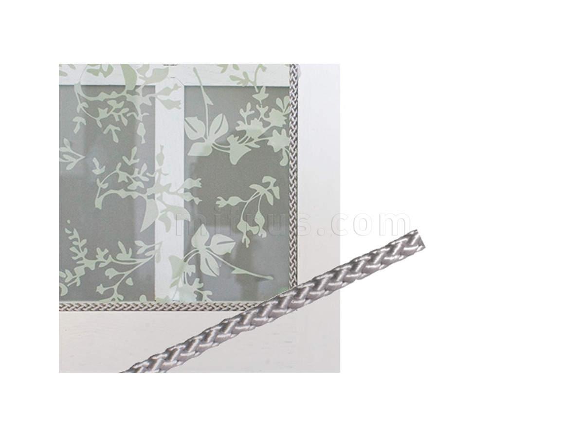 Веревка 1129.8.G.M (ММ8) d=8мм для крепления витражей, (катушка 230м) СЕРЕБРИСТЫЙ