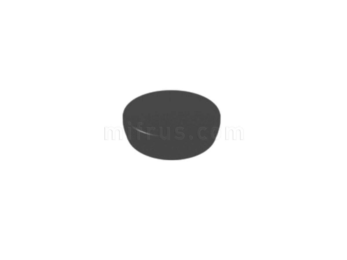 BOYARD Накладка круглая H17BL черный (300)