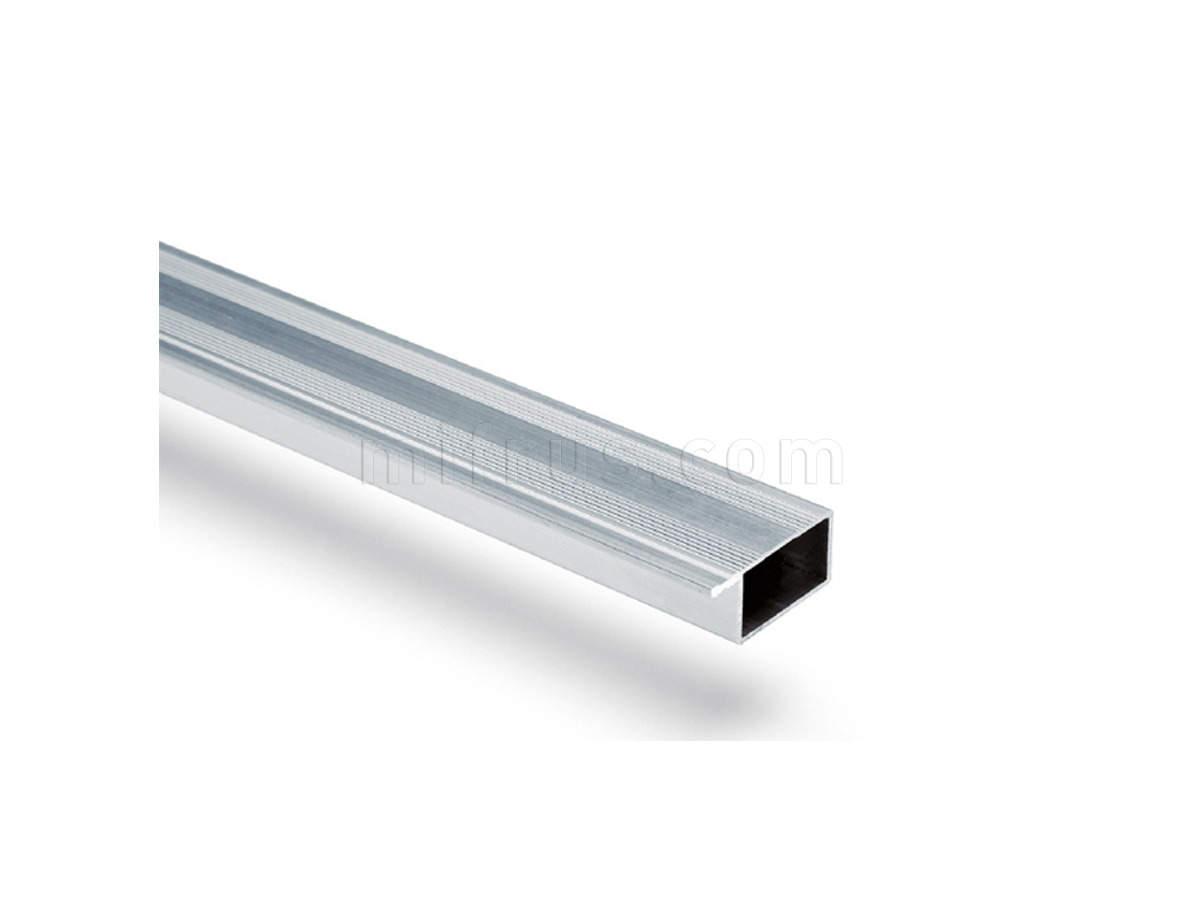 80B8.P20PZ Профиль-проставка Н=20 мм для столешниц 40 мм, алюминий L=4200 (12)