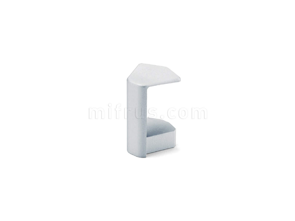 80B8.454060B.00 Угол внутренний 135° для столешниц 40 мм, алюминий (2)