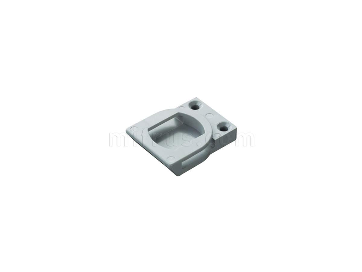 DP29SNGB PUSH Ответная часть для рамки 17-35 мм, серая