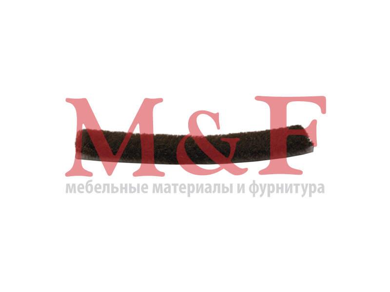 V Шлегель самоклеющийся 3Р 7х6мм тёмно-коричневый (200м)