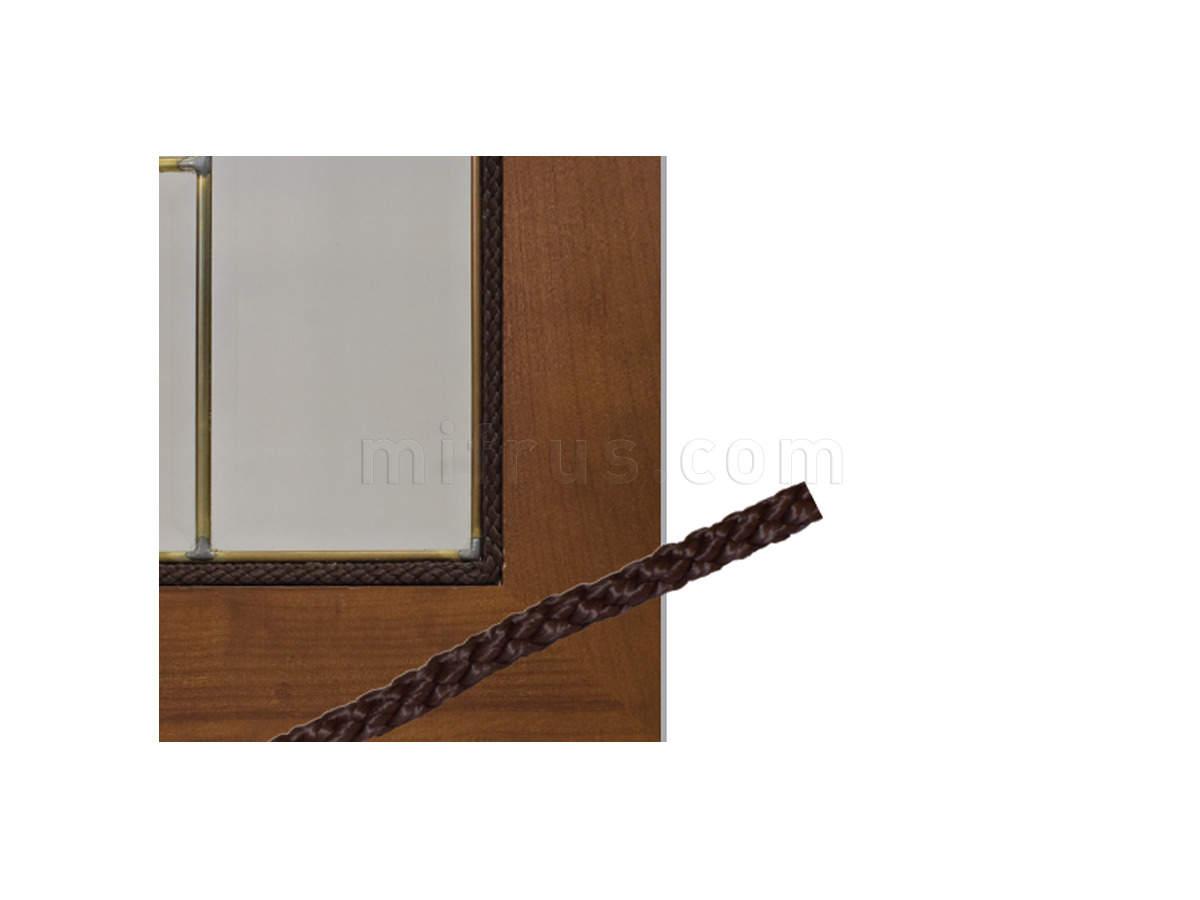 Веревка 1129.8.M.M (ММ8) d=8мм для крепления витражей, (катушка 500м) КОРИЧНЕВЫЙ
