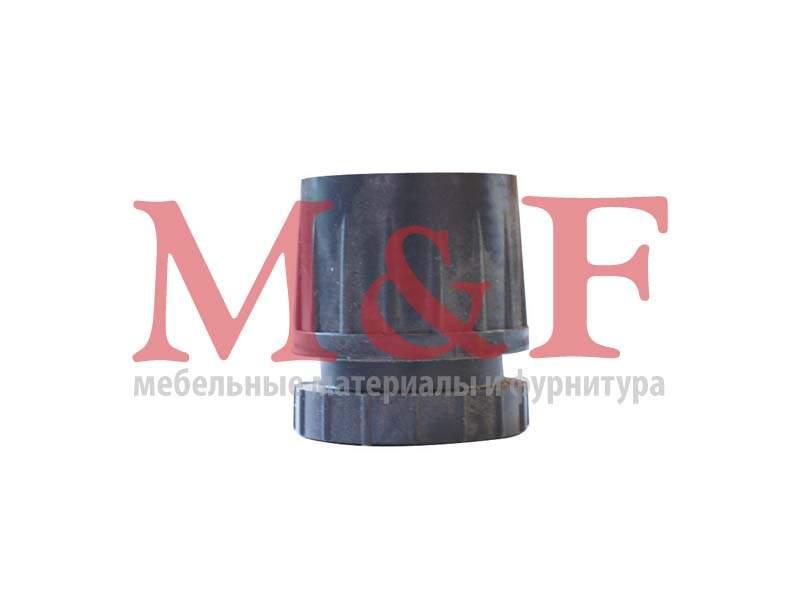 Крепление нижнее для трубы 50 мм регулируемое (чёрное)