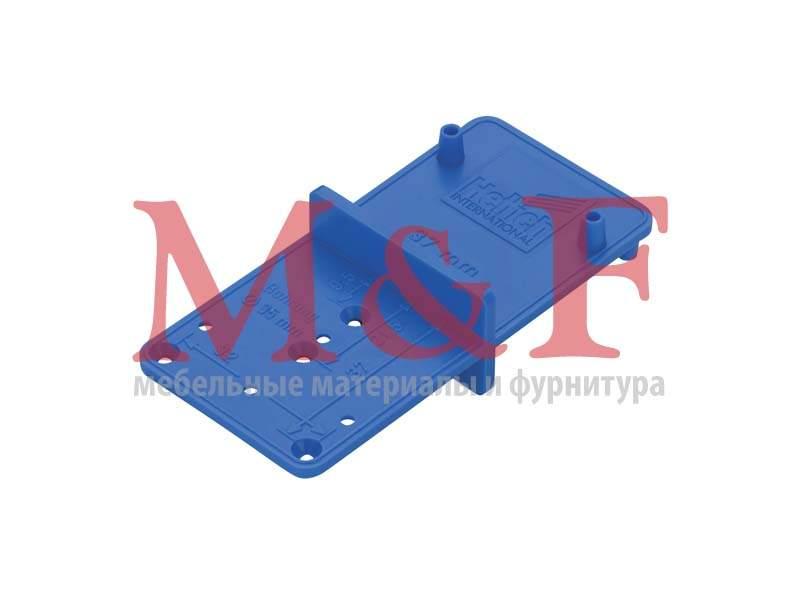 Универсальный разметочный шаблон MultiBlue для петель, монт. планок и стяжек VB [351] (1)