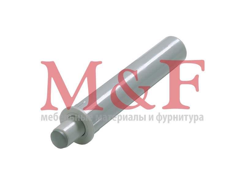 Демпфер Silent System под запрессовку для накладной двери, пластм., серый [60685] (1000)