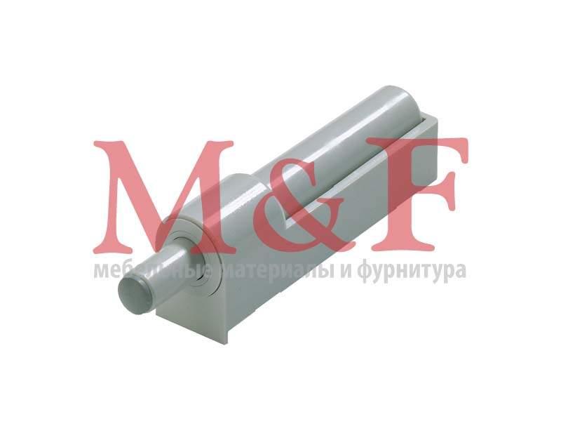 Демпфер Silent System для прикручивания для накладной двери, пластмасса серая (50)