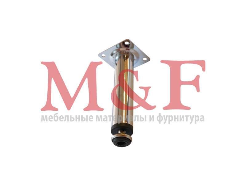 Опора цокольная 30х150 мм, хром регулируемая арт.4615
