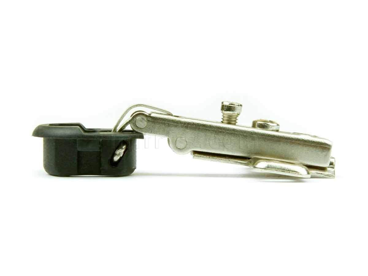 BOYARD Петля H501A/0410 (902АЕ) для стекл. накл. дверей d=5.5 H=0 (300)
