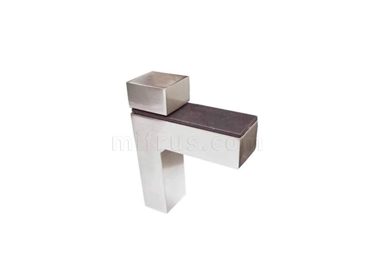 BOYARD Полкодержатель P507SN.2 матовый никель (15/150)