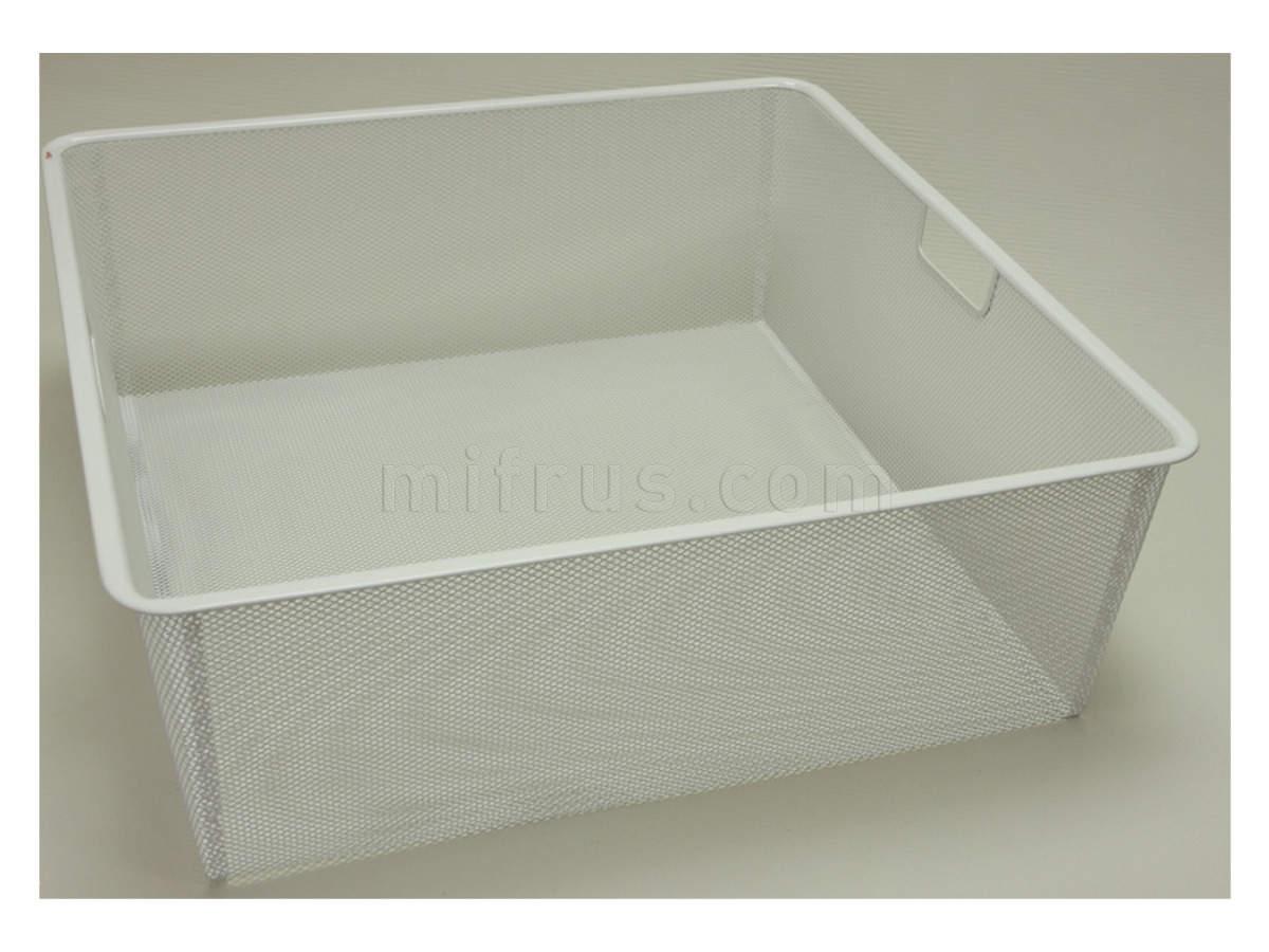 Корзина mesh на 2 рельс, шир 55 см, белый 155290   (SALE)