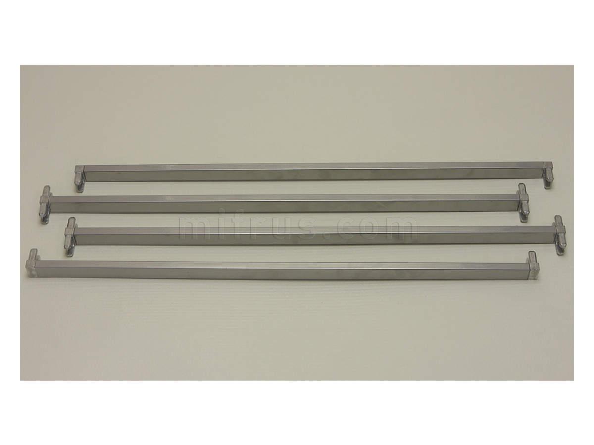 Поперечина стеллажа , шир. 55 см L+Т-обр., (комплект 4 шт.), платинум 205084