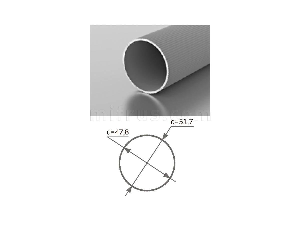 Профиль T - 51 (6м) серебро
