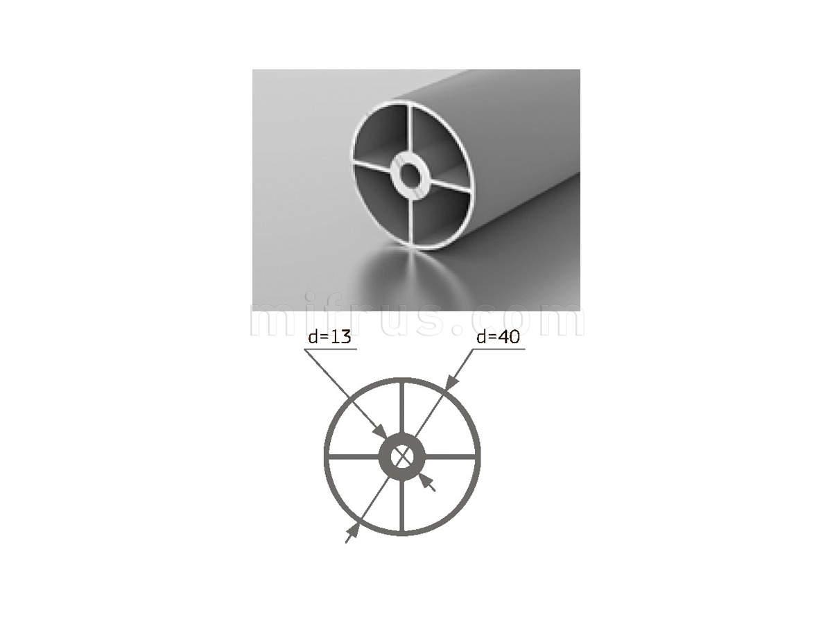 Профиль M 1-02 (6м) серебро