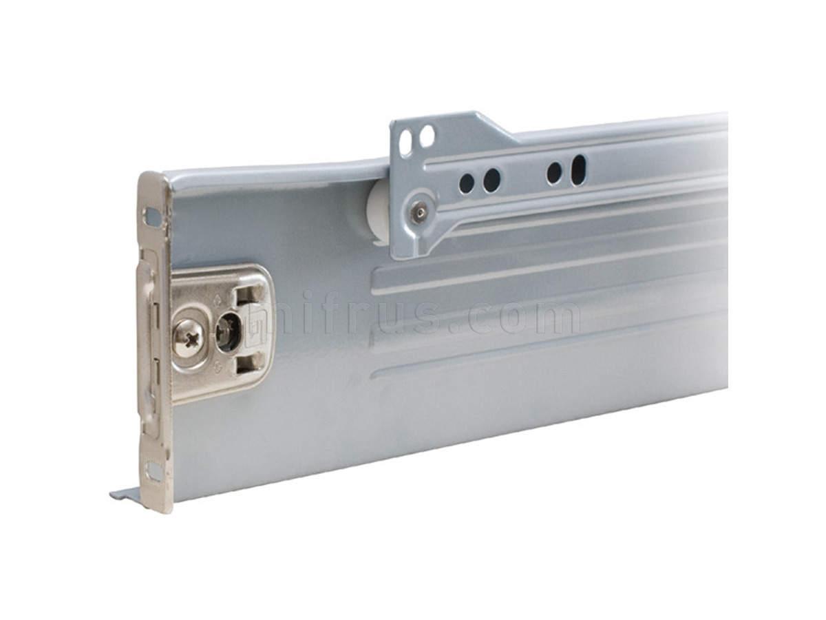 INN.086.400.GM Метабокс Н=86 мм, L=400 мм, серый металлик (10)