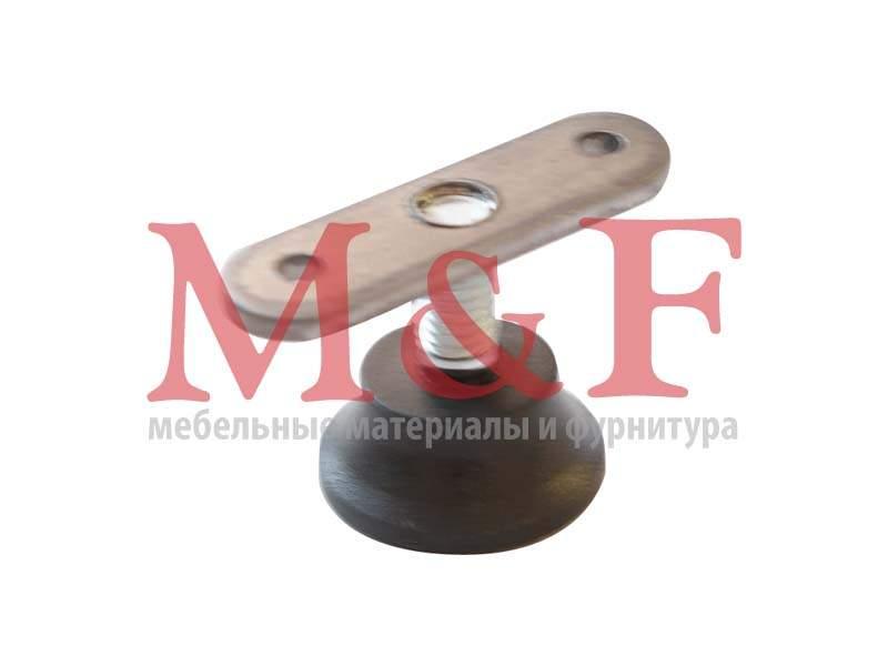 Ножка регулир. Бинго М8 d=29мм черная (SALE)