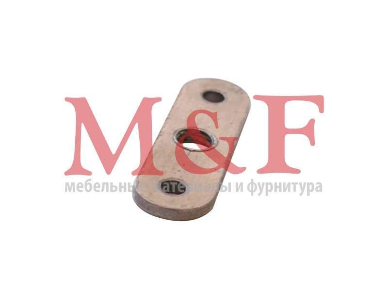 Планка резьбовая для ножки Бинго М8 (200)