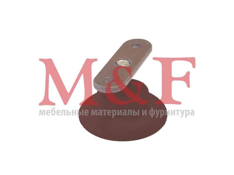 Ножка регулир. Бинго М8 d=43мм коричневая