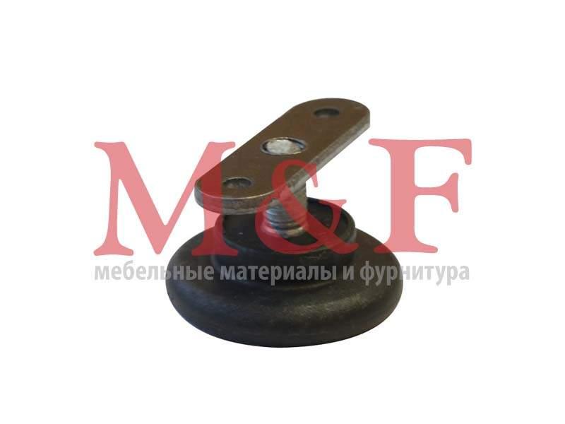 Ножка регулир. Бинго М8 d=43мм черная