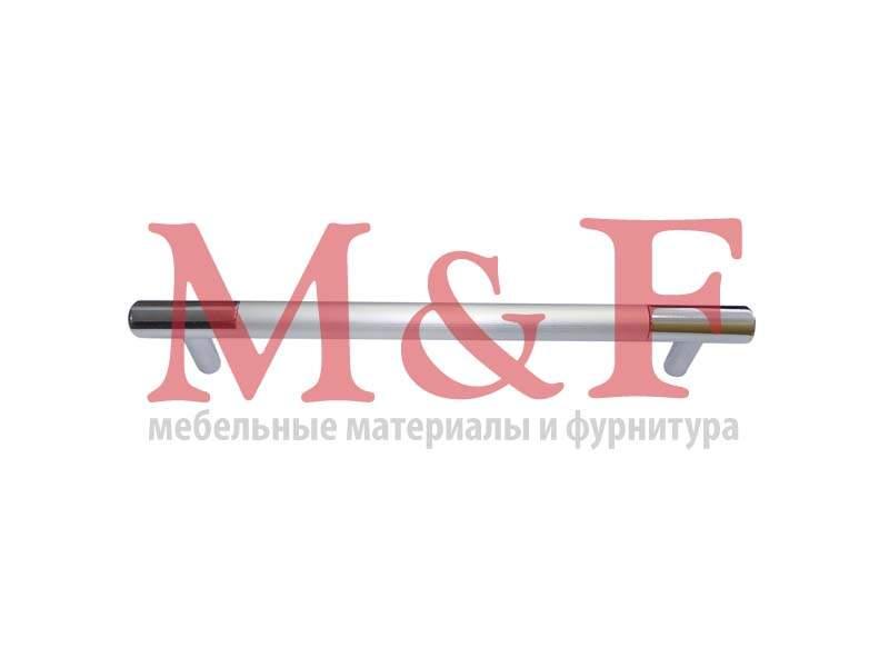 Ручка-рейлинг ОСКАР 14.111-06/03 алюм. 448мм (50) (SALE)