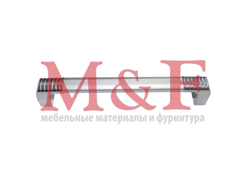 Ручка-рейлинг ОСКАР 14.129-06/03 алюм. 96мм (100) (SALE)